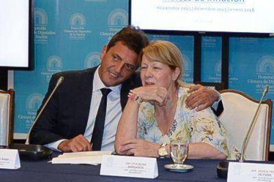 Massa y Stolbizer, juntos en Mar del Plata