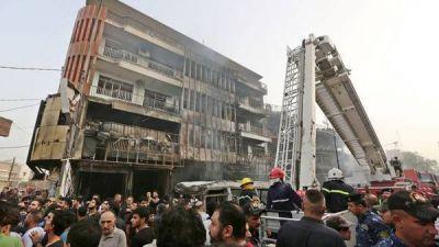 Doble atentado del ISIS en Bagdad: hay 126 muertos y 200 heridos