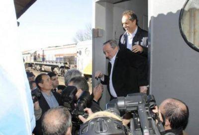 Los trenes que inauguraron Scioli y Lunghi, sin mantenimiento, y con gravísimas fallas de seguridad