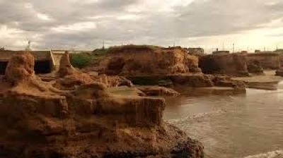 Cancelan obra sobre el acantilado de Camet Norte