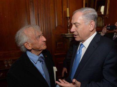Binyamin Netanyahu: �Elie Wiesel personifica el triunfo del esp�ritu humano sobre el mal m�s inimaginable�