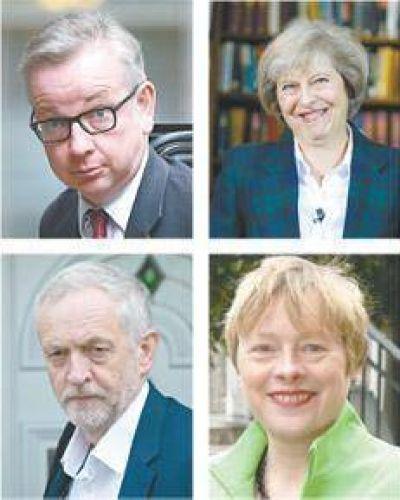 Arde la batalla por la sucesión británica
