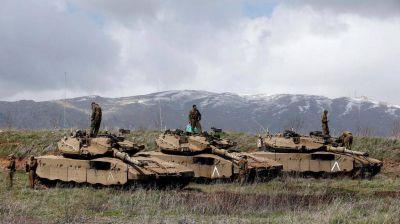 M�xima tensi�n en el Gol�n: Israel atac� posiciones sirias en respuesta a una agresi�n previa