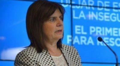 Mañana llega la Ministra Bullrich para presentar programa contra el narcotráfico