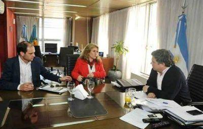 Productiva reunión de Lordén con el Ministro de Desarrollo Social de la provincia