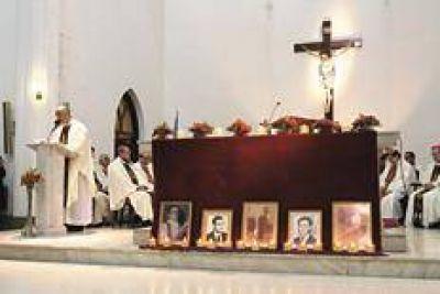 La memoria del martirio de los palotinos