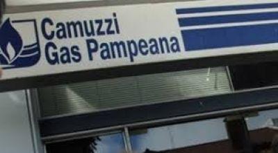 Desde Camuzzi informaron que están regularizando la situación de los usuarios