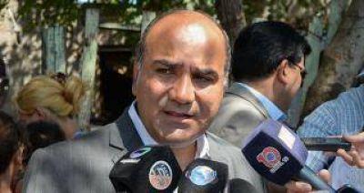 Manzur junto a autoridades del PJ nacional