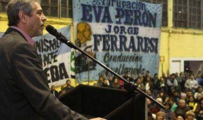 Encuentro del peronismo local encabezado por Ferraresi