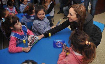 Vidal y Garro anunciaron la construcción de cinco nuevos jardines maternales en La Plata
