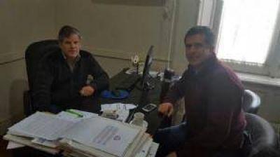 El diputado Fabio Britos se reuni� en Rivadavia buscando soluciones a varios problemas