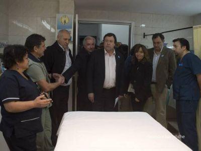 El hospital zonal sumó cinco nuevas camas a terapia intensiva