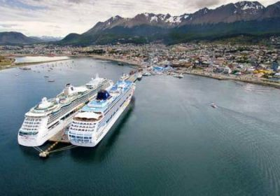 Gestiones ante Naci�n para la ampliaci�n del Puerto de Ushuaia