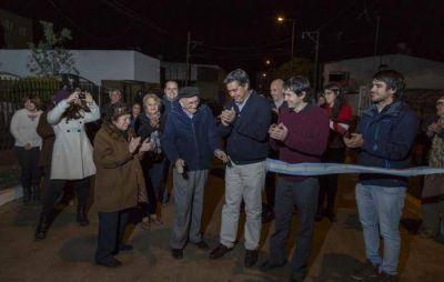 Capitanich inauguró el pavimento del Pasaje Roldán