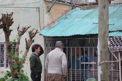 De la Torre y Méndez supervisaron obra hidráulica en el Barrio Mitre