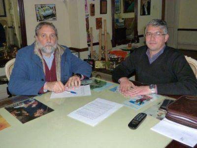Puglelli hace foco en educaci�n y obras