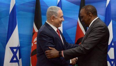 El presidente de Kenia expres� que �frica necesitaba a Israel, durante la hist�rica visita de Netanyahu al continente