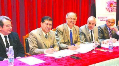 La Provincia se comprometió a proteger a víctimas de violencia
