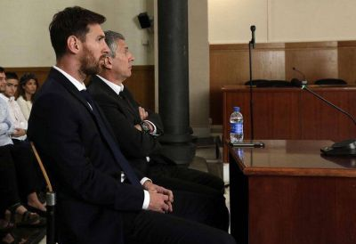 Los Messi, condenados a 21 meses de prisión