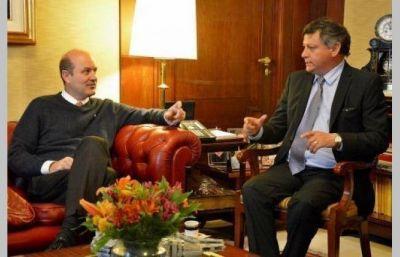 Peppo y el presidente del BCRA diagramaron acciones