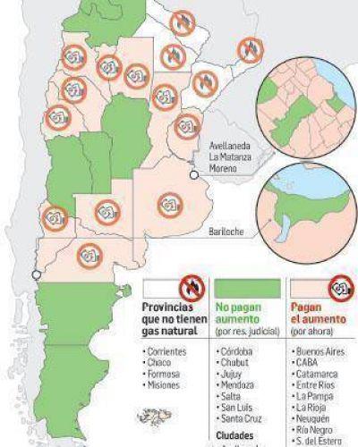 También en Salta y Jujuy se frenaron aumentos en el gas