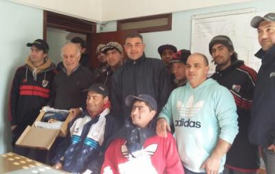 CARLOS RONDA SIEMPRE JUNTO A LOS TRABAJADORES