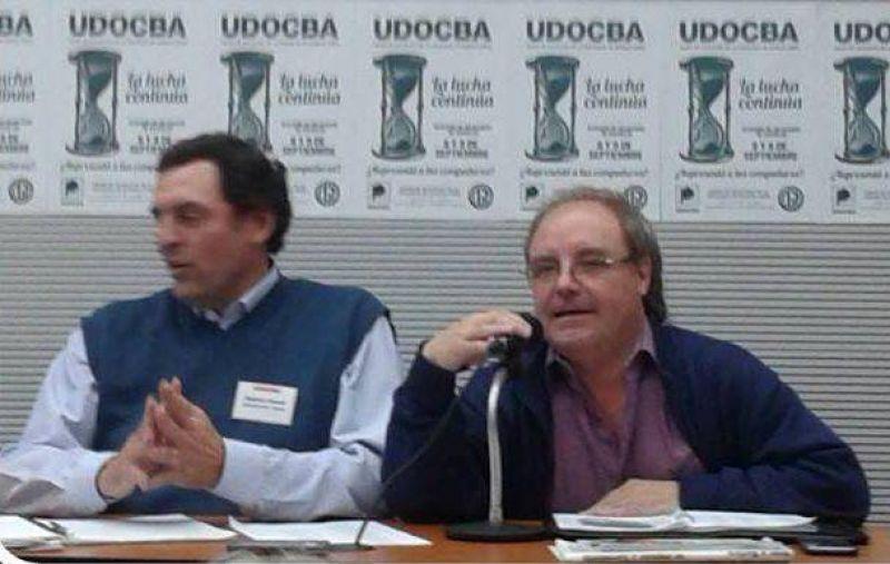 El Secretario General en Chascomús: UDOCBA exige una recomposición salarial y un sueldo mínimo de $12.000