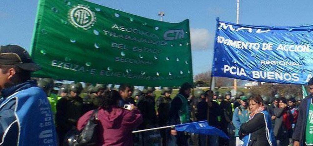 Trabajadores de ATE se movilizarán en Echeverría