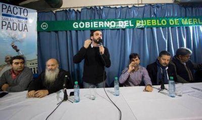 El Movimiento Evita firm� el Pacto de San Antonio de Padua