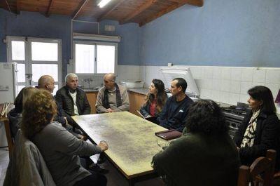 Concejales vecinalistas se reunieron con las sociedades de fomento de Boca y Benito Machado