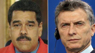 Presión y dilaciones, las armas de Macri contra Maduro