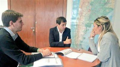 El intendente present� tres proyectos ambientales en el Ministerio de Ambiente