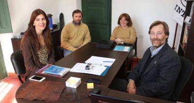 Bettina Romero se reunión con los representante del INTI de Salta