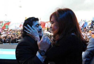 Maradona habl� con Cristina: �Vamos a volver�