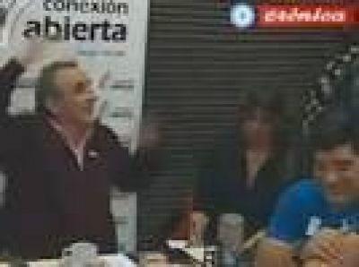 Diego Maradona, Guillermo Moreno y Hebe de Bonafini, juntos en un programa y contra el Gobierno de Macri