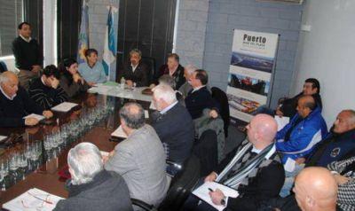 Funcionarios, empresarios y gremialistas avanzaron en gestiones por más y mejor trabajo en Puerto y Pesca