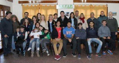 AEFIP entregó subsidios a deportistas de Mar del Plata y la zona