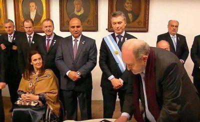 Verna acompañó la celebración en Tucumán