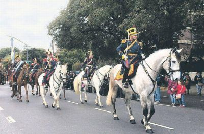 Los festejos del Bicentenario cerraron con un desfile militar