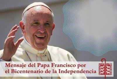 Carta del Papa Francisco por el Bicentenario de la Independencia