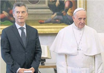 Para el Papa, hay colaboradores de Macri que da�an su relaci�n con el presidente