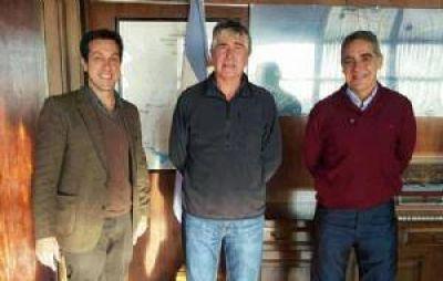Gestiones de Puerto Quequ�n para reactivar el tren de carga
