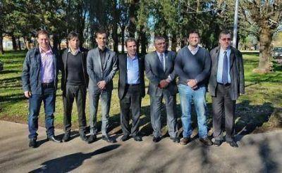 Ritondo, ministro de Seguridad, se reunió con intendentes de la 4ta sección electoral
