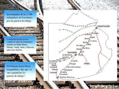 Reclamo para restablecer los trenes de Ferrobaires