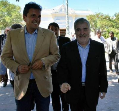 Massa desembarca nuevamente en Chubut