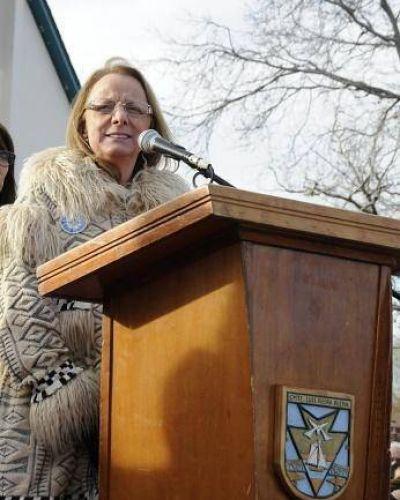 Con un mensaje politizado, Alicia Kirchner convocó al diálogo
