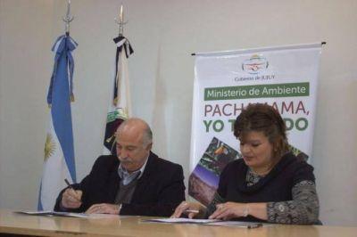 Salud y Ambiente formalizan agenda de gesti�n conjunta