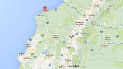 Dos fuertes sismos sacudieron el noroeste de Ecuador