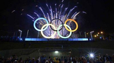 Los números de la fiesta olímpica