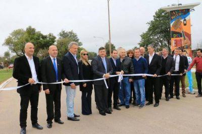 En el 95º aniversario de Presidencia de la Plaza, el Gobernador y el Intendente inauguraron obras